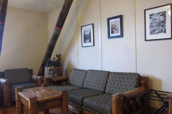 Paradise Inn Mezzanine Seating Area