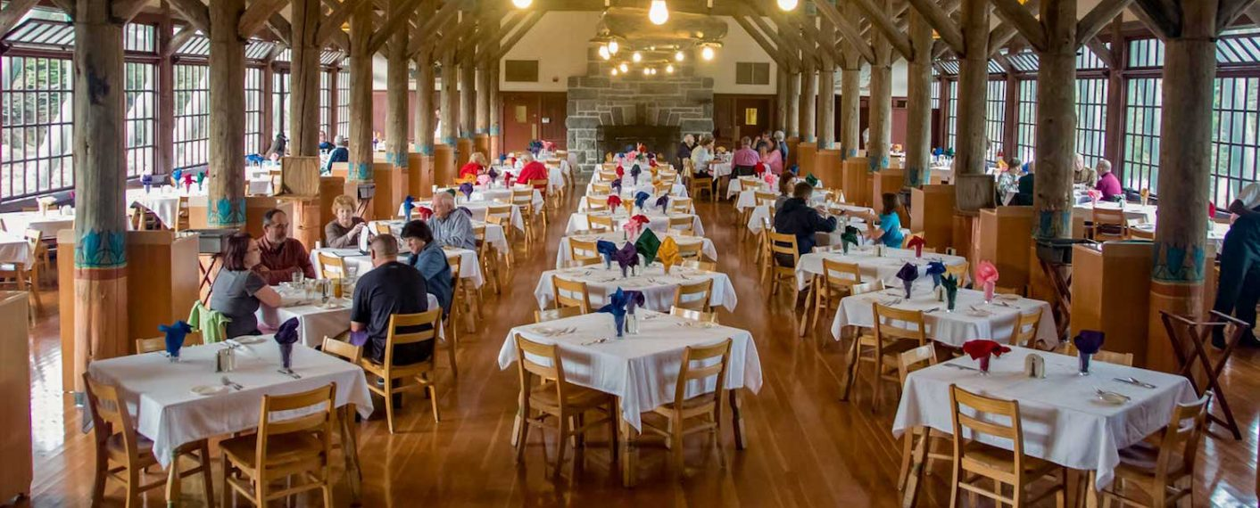 Paradise Inn Dining Room | Mt. Rainier National Park Lodging