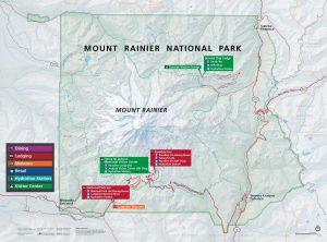 Map & Directions | Mt  Rainier National Park Lodging